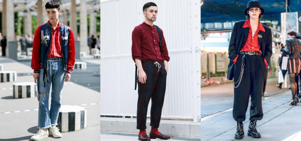 男生「過年穿搭」提案!用喜氣紅色打開新年新氣象,拜年、走春都超有型!
