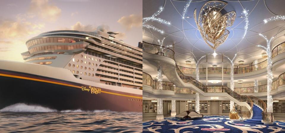 迪士尼郵輪「願望號」2022 年起航,超長透明滑水道、公主主題套房 ⋯ 超夢幻 6 大亮點懶人包!