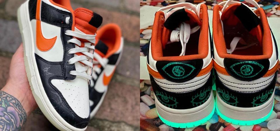 Nike Dunk Low 推出萬聖節配色「Halloween」,獨特圖騰搭配夜光大底真的有在趴