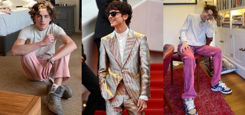 「甜茶」Timothée Chalamet 中性私服穿搭解析,抓住時髦關鍵重點,無論男女都能穿出英倫氣質!