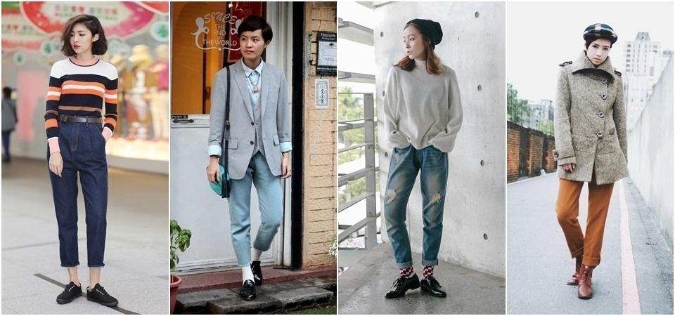 中性風女孩:穿上率性的裝扮,為春天塑造妳的獨特魅力 !