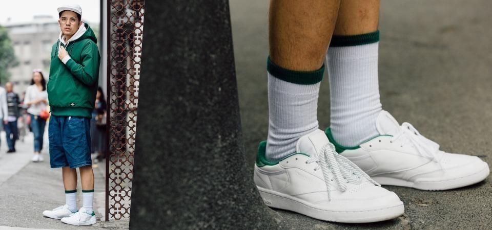 復古白鞋新勢力 Reebok Tennis Pack 翻轉你對色彩的想像