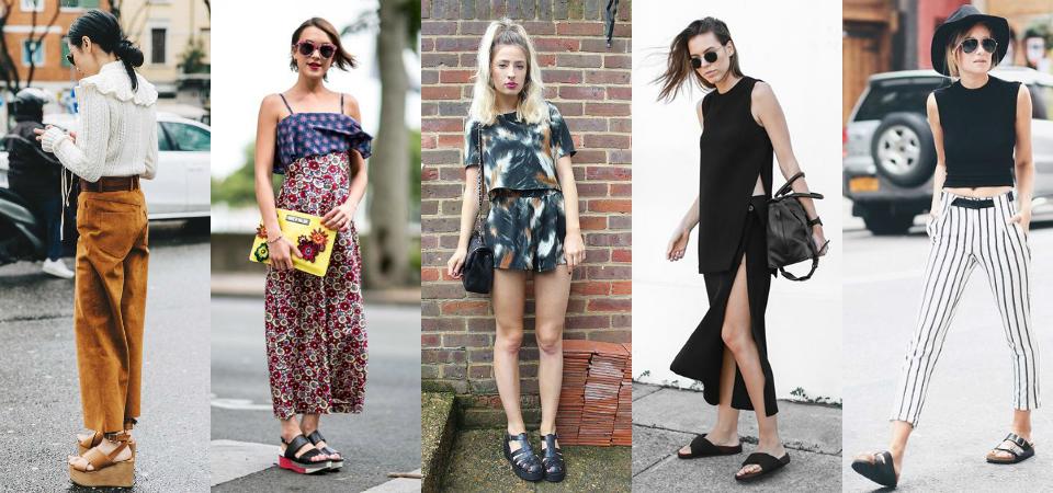 今年夏天,和姊妹出去玩一定要穿的 5 款涼鞋!