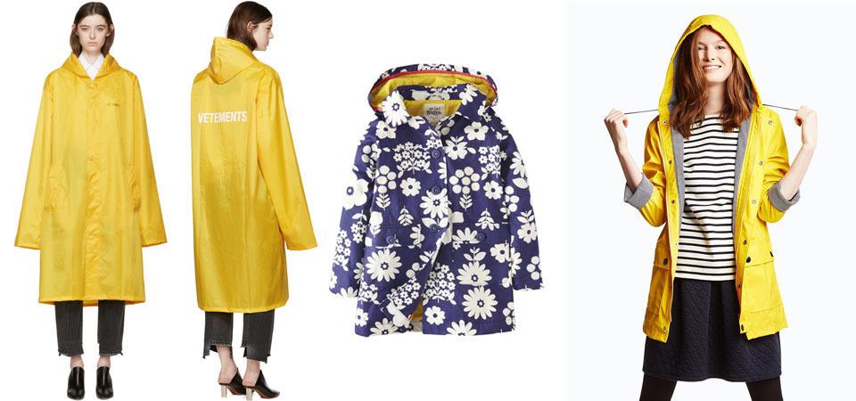 雨日限定的 STYLE!六款時尚品牌雨衣盤點,下雨也能有型!