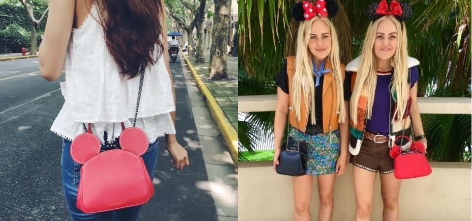 Disney x Coach可愛米奇耳朵包揹起來是這樣!孫芸芸、吳斐莉等時尚名人搶揹示範