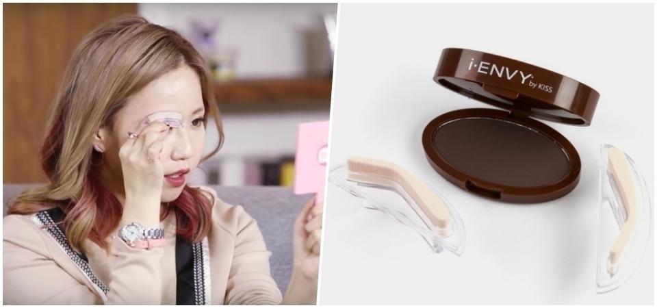 懶人畫眉又有新招!快學起來,韓國女生最新流行「眉毛印章」
