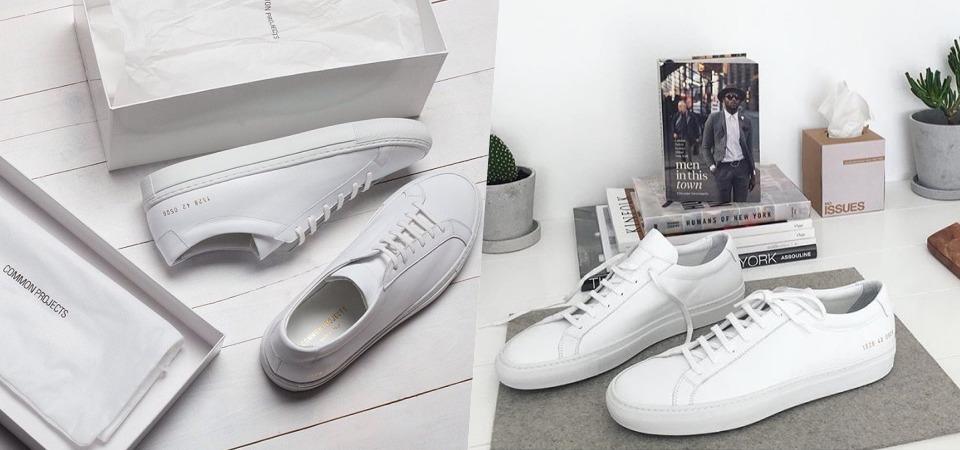 不只是一雙小白鞋!它世界上最完美的運動鞋!你有聽過 common projects 嗎?