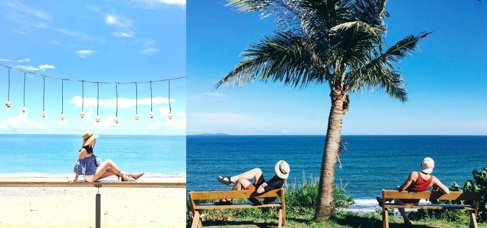 陽光、沙灘、椰子樹!4 間無敵海景咖啡廳報你知,讓你在台灣也像置身峇里島