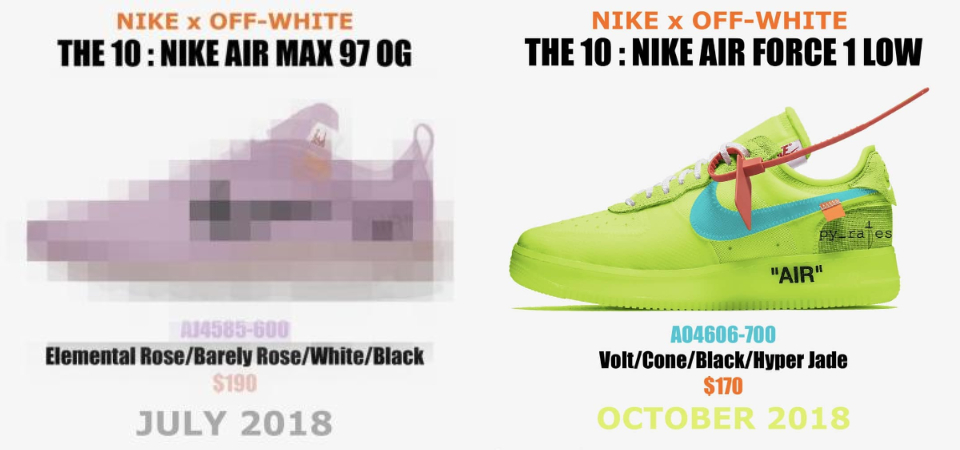 「 The X 」?「 Virgil Abloh x NikeLab Air Max 97 」全新粉嫩配色曝光!