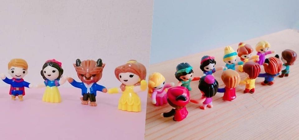 還我出奇蛋!最新一期的「健達奇趣蛋」女孩版是迪士尼公主我願意妥協!