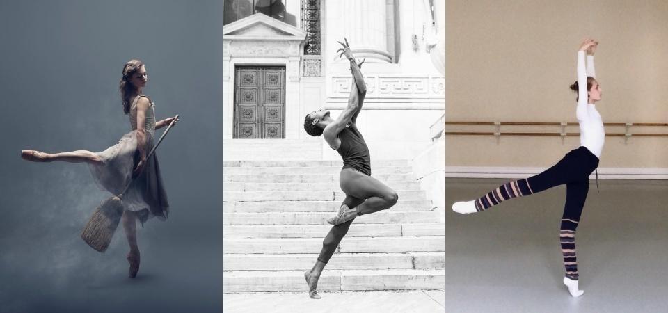 學芭蕾的人仙氣十足以外,整個氣質根本超出一般人! 4 位讓人賞心悅目的優雅芭蕾舞者