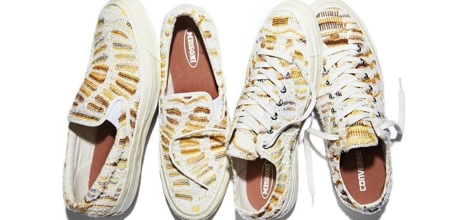 Missoni x Converse 2015 聯名鞋款,7月25日台灣正式販售!