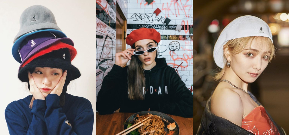 還沒入手潮人都在戴的「Kangol 袋鼠帽」對不起自己!從貝蕾帽、鐘型帽到漁夫帽都有!