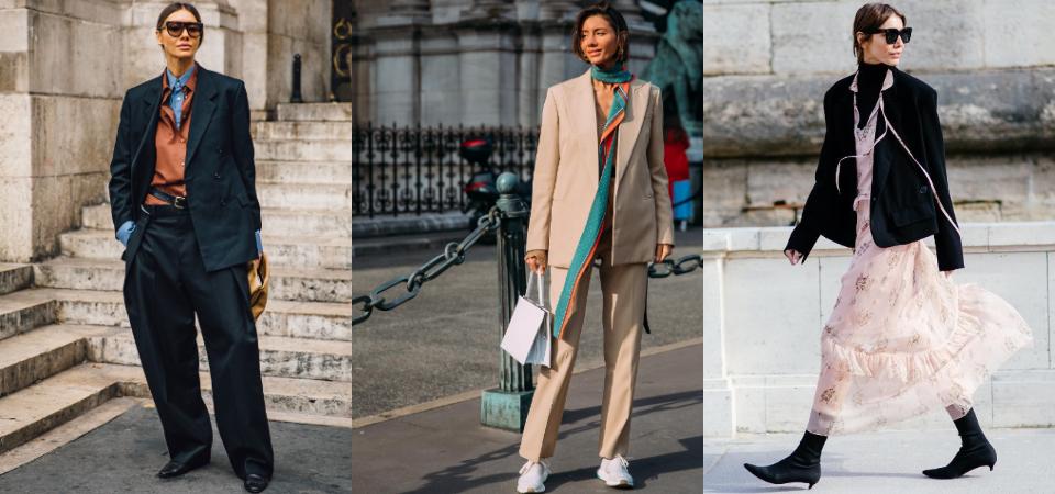 沒人比她更適合西裝!烏克蘭 Vogue 時尚編輯 Julie Pelipas 的極簡風格及中性美學,解析穿搭給你!