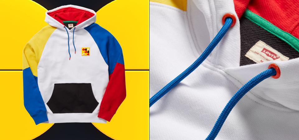 LEVI'S x LEGO 聯名系列,讓衣物成為你的專屬畫布,利用「LEGO DOTS」盡情揮灑創意!