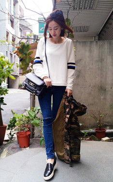 時尚穿搭:sporty casual