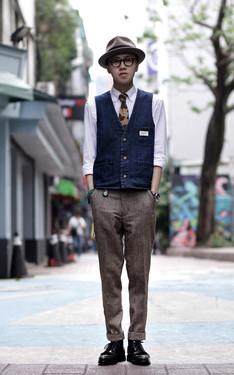 時尚穿搭:話多的紳士