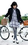 VIKTOR & ROLF (團團) 黑白樂福鞋 的時尚穿搭