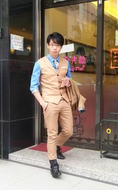 時尚穿搭:棕色學院風