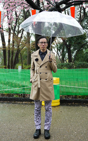 FIND TRENCH COAT的穿搭