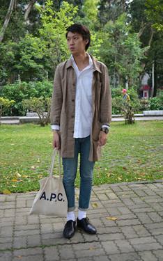 時尚穿搭:穿搭主題:嘗試muji的風格