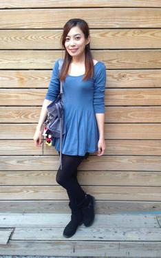 時尚穿搭:原來是美花 2014-04-15的搭配