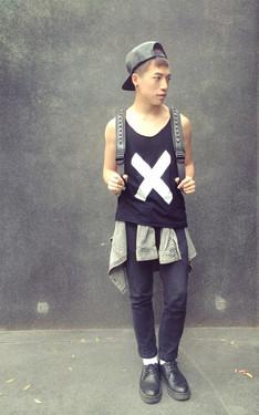 時尚穿搭:Hot X Black