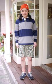 BARBARIAN×BEAMS POLO衫的時尚穿搭