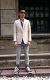時尚穿搭:ALL DENIM & SUIT