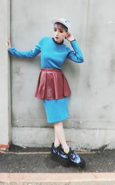 時尚穿搭:KIND OF BLUE
