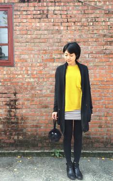 時尚穿搭:暖日。