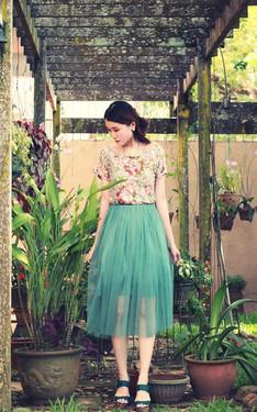 時尚穿搭:春氛