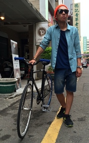 OBEIZAO FIXED GEAR的穿搭