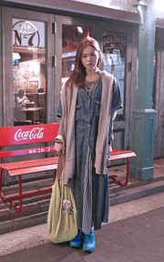 AMERICAN APPAREL OVERSIZED BAG的穿搭