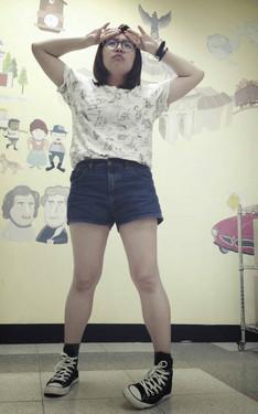 時尚穿搭:腿短是一種特色