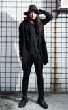 MUJI 無印良品 黑寬延竹編帽的時尚穿搭