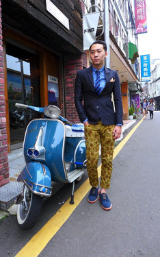 時尚穿搭:Vespa suit Day