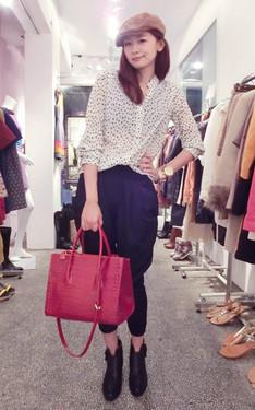 時尚穿搭:Alice Chang 2013-10-21的搭配