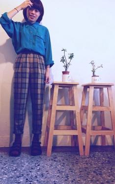 時尚穿搭:和椅子形成3個A之太高腰了吧隔壁伯父風