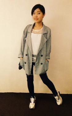 時尚穿搭:簡約韓風