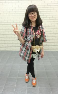 時尚穿搭:哈哈 快樂郊遊