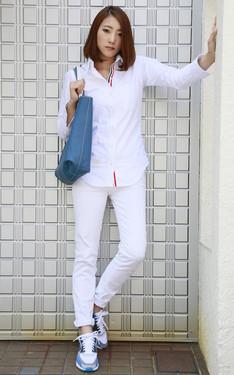 時尚穿搭:WHITE CASUAL STYLING
