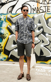 UNITED ARROWS SHORTS的穿搭
