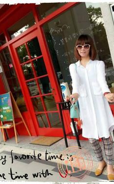 時尚穿搭:白襯衫也可以穿的很有型