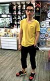 時尚穿搭:黃