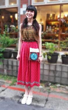 時尚穿搭:新加坡來的少女