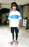 時尚穿搭:放颱風假了