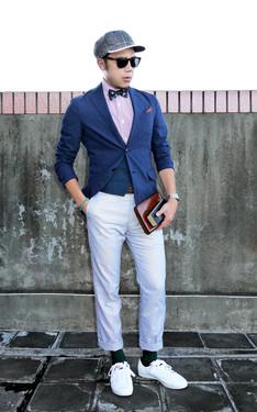 時尚穿搭:林果良品紳士講堂後補拍