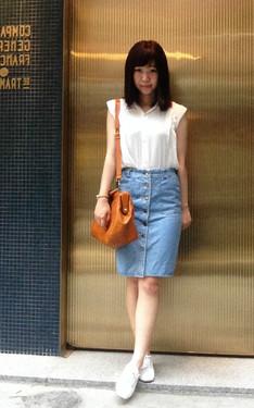 時尚穿搭:OL風格很少出現在我身上