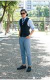 PAUL SMITH 丹寧皮鞋的時尚穿搭